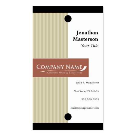 Classic Corporate Architect Business Cards