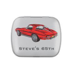 Classic Corvette Design Party Favor Candy Tin at Zazzle