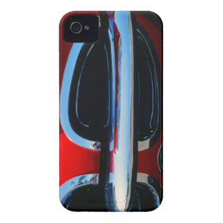 Classic Corvette Grill and Bumper Abstract iPhone 4 Case-Mate Cases
