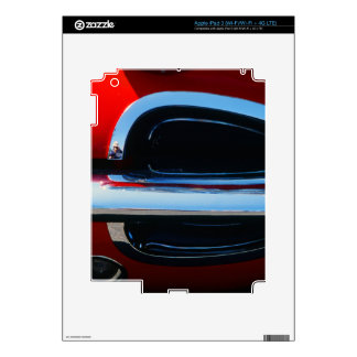 Classic Corvette Grill and Bumper Abstract iPad 3 Decals