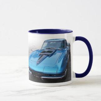 Classic Corvette Muscle Car Coffee Mug
