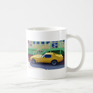 Classic Corvette Stingray. Coffee Mug