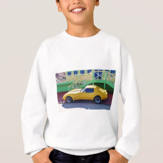 Classic Corvette Stingray. Sweatshirt