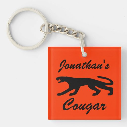 Classic Cougar Key Chains