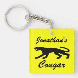 Classic Cougar Keychain
