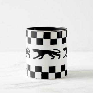 Classic Cougar Two-Tone Coffee Mug