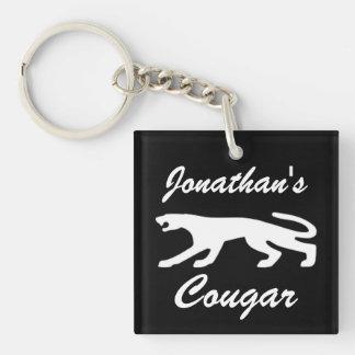 Classic Cougar V2 Keychain