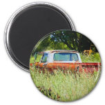 Classic Country Pickup Fridge Magnet