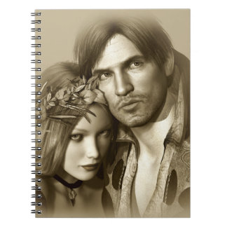 Classic Couple Notebook