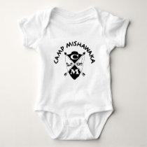 Classic Crest Baby Bodysuit