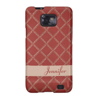 Classic Criss-Cross Fabric Texture 1 Android Case Galaxy S2 Covers