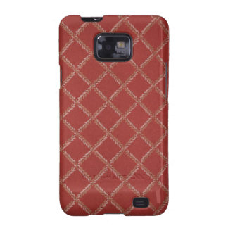 Classic Criss-Cross Fabric Texture 2 Android Case Samsung Galaxy S2 Case