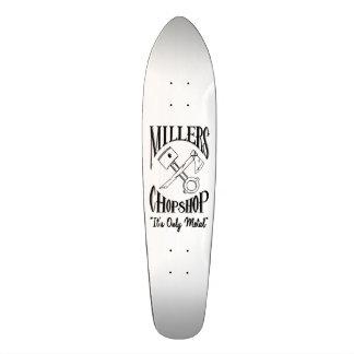 Classic Cross Bones Logo Skateboard