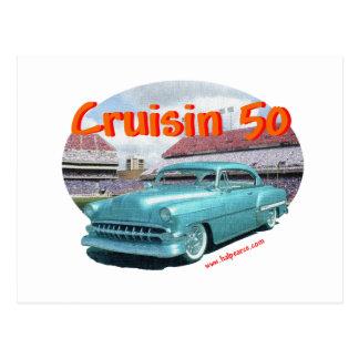 Classic_Cruisin_1954_Chevrolet Postcard