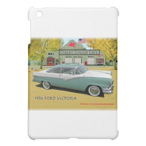 Classic Cruisin Cars1956 Ford Fairlane Victoria iPad Mini Cover
