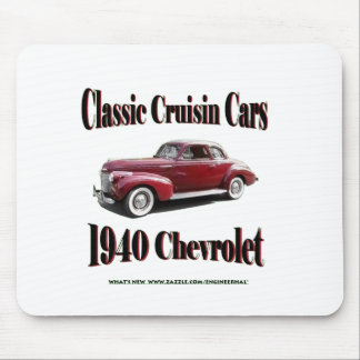 Classic Cruisin Cars 1940 Chevrolet show Mouse Pad