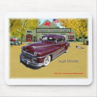 Classic Cruisin Cars 1948 Desoto Mouse Pad
