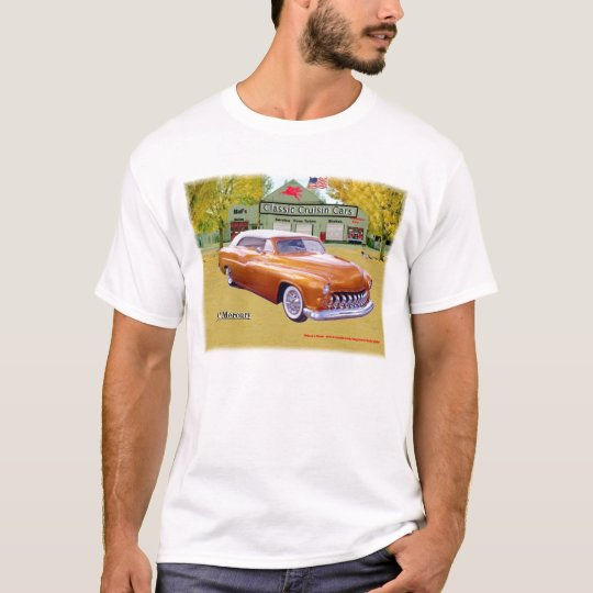 Classic Cruisin Cars 1951 Mercury Shirt