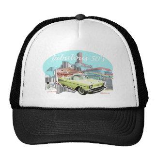 Classic_Cruisin_Cars_1957_Chevrolet. Trucker Hat
