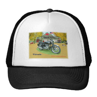 Classic Cruisin Cycles Velocette Hat