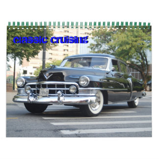 Classic Cruising Calendar by WIZARD Photography