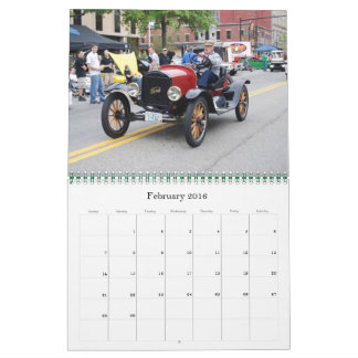 Classic Cruising Calendar by WIZARD Photography