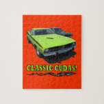 Classic Cudas Design Jigsaw Puzzle