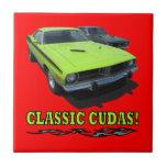 Classic Cudas Design Tile