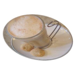 Classic Cup of Coffee in Trujillo Melamine Plate