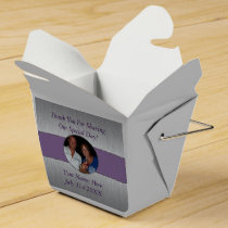 Classic Custom Picture Favor Box