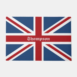 Classic Custom Union Jack UK Flag Doormat
