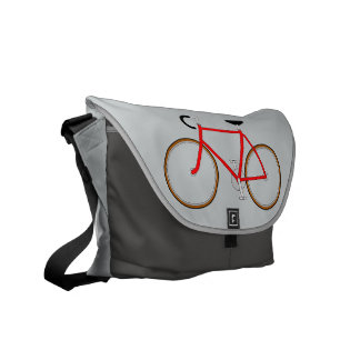 Classic Cyclist's Shoulder Bag - Grey Shades