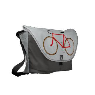 Classic Cyclist's Shoulder Bag - Grey Shades Messenger Bag