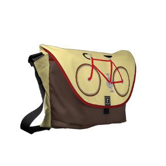 Classic Cyclist's Shoulder Bag - Pale Ochre Messenger Bag