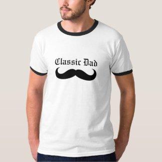 Classic Dad Mustache T-Shirt