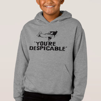 """Classic DAFFY DUCK™ """"You're Despicable"""" Hoodie"""