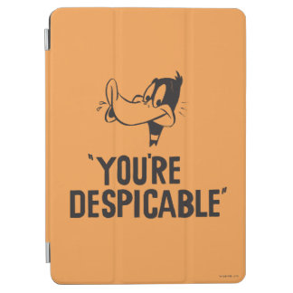 """Classic DAFFY DUCK™ """"You're Despicable"""" iPad Air Cover"""