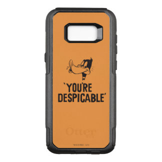 """Classic DAFFY DUCK™ """"You're Despicable"""" OtterBox Commuter Samsung Galaxy S8+ Case"""