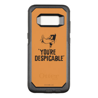 """Classic DAFFY DUCK™ """"You're Despicable"""" OtterBox Commuter Samsung Galaxy S8 Case"""