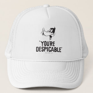 """Classic DAFFY DUCK™ """"You're Despicable"""" Trucker Hat"""