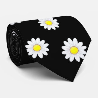 Classic Daisy Flower Tie