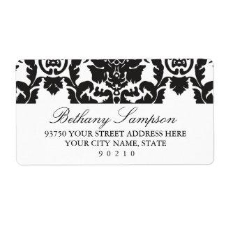 Classic Damask Address Labels