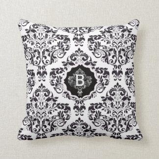 Classic Damask Throw Pillows