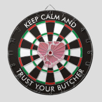 Classic Dartboard with Steak