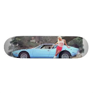 Classic De Tomaso Pantera Skateboard Deck