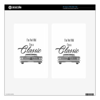 classic decals for kindle fire