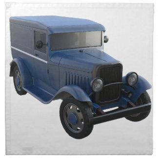Classic Delivery Sedan Cloth Napkin