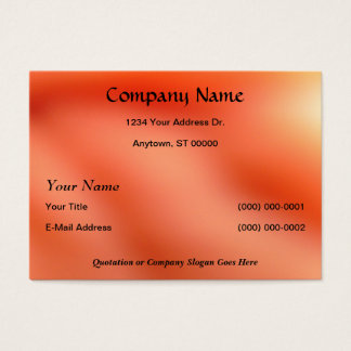 Classic Design with Faux Finish Background Business Card