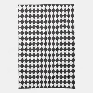 Classic Diamond Harlequin Pattern Towel