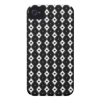 Classic Diamond Pattern Case Mate For iPhone 4